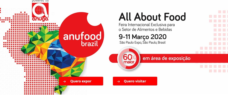 ANUFOOD espera reunir 10 mil profissionais da indústria de Alimentos e Bebidas em sua segunda edição